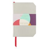 Colour By Numbers Mini Notebook Gold