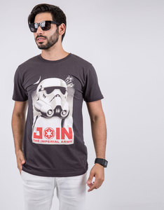 Star Wars Imperial Army Men Charcoal T-Shirt