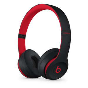 Beats Solo3 Wireless On-Ear Headphones The Beats Decade Collection Defiant Black/Red