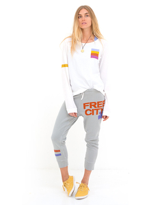Freecity Strike Sounds 3/4 Silver Cloud Sweatpants