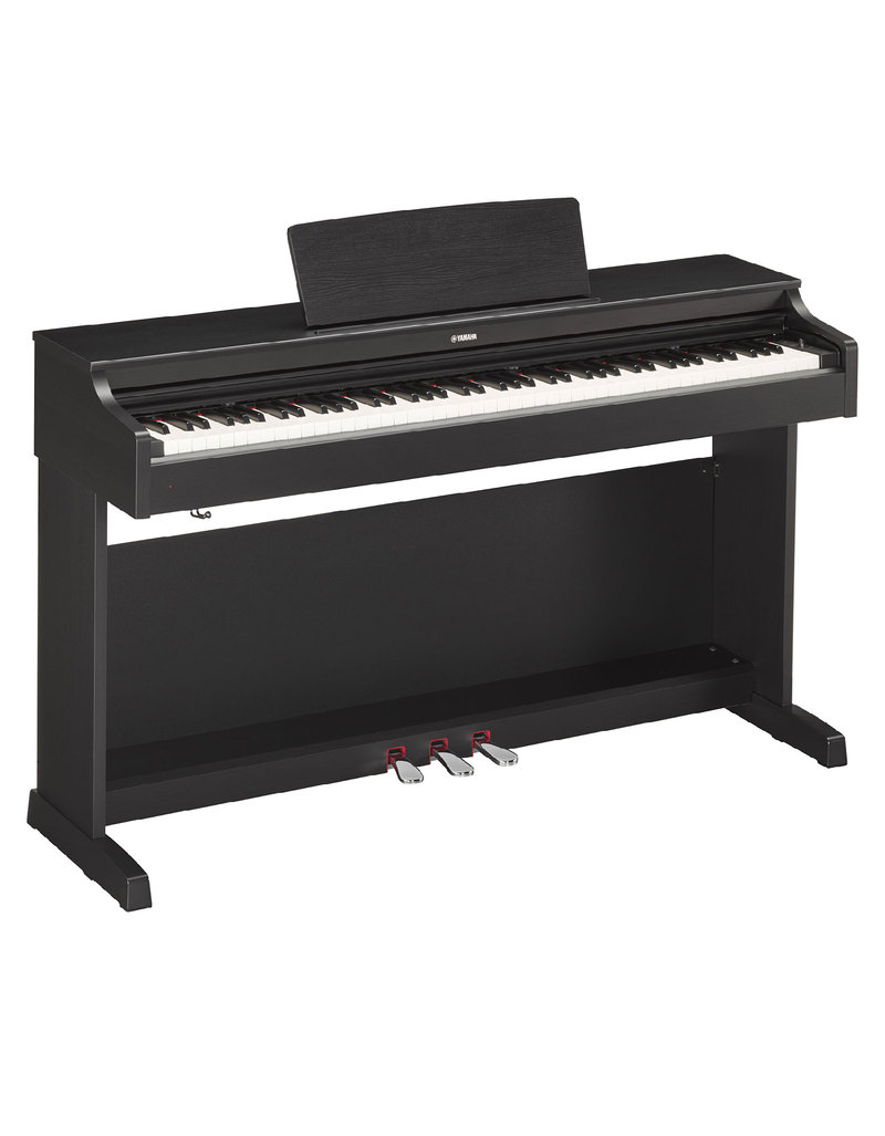 Yamaha ydp 163 black digital piano digital pianos for Yamaha piano dealer near me