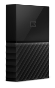 WESTERN DIGITAL 4TB MY PASSPORT BLACK