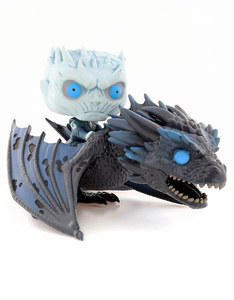 Funko Pop Rides Game of Thrones Night King on Dragon Vinyl Figure