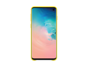 Samsung B1 Leather Cover Yellow for Galaxy S10