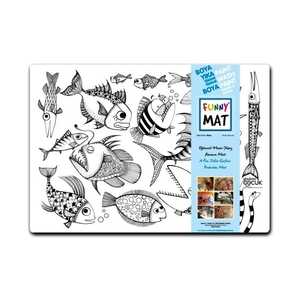 Funny Mat Activity Placemat Shoal