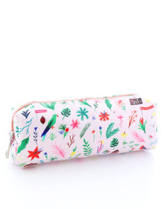 Ohh Deer Tropical Icons Large Pencil Case
