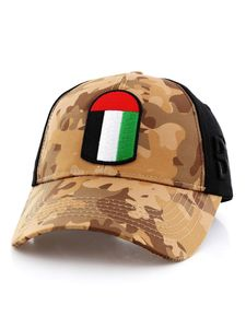 B360 B Proud Uae Unisex Cap Army/Black