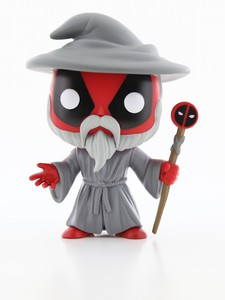 Funko Pop Deadpool Playtime Wizard Vinyl Figure