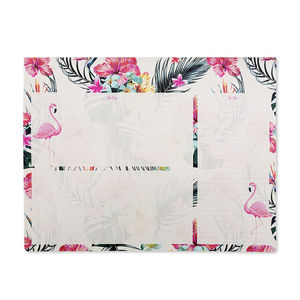 Go Stationery Flamingo Palm Springs Large Desk Pad