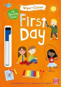 First Day: Wipe-Clean Book with Pen