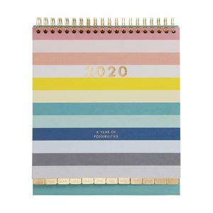 kikki.K 2020 Desk Calendar Inspiration Multi-Color