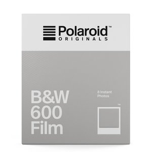 Polaroid B&W Film for 600 Camera
