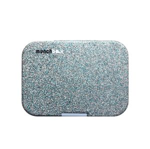 Munchbox Sparkle Blue Mega4 Artwork Tray Blue Lunchbox