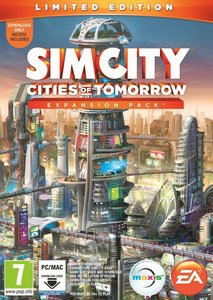Sim City Cities Of Tomorrow Ltd Ed Pc