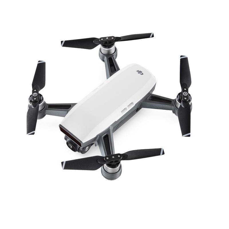 Dji Spark Mini Drone Quadcopter Alpine White Drones