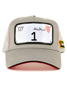 Raqam New Abu-Dhabi Collection Plate No.1 Model 3 Cap