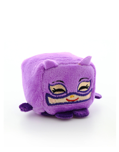 Kawaii Cubes Catwoman Plush 2 inches