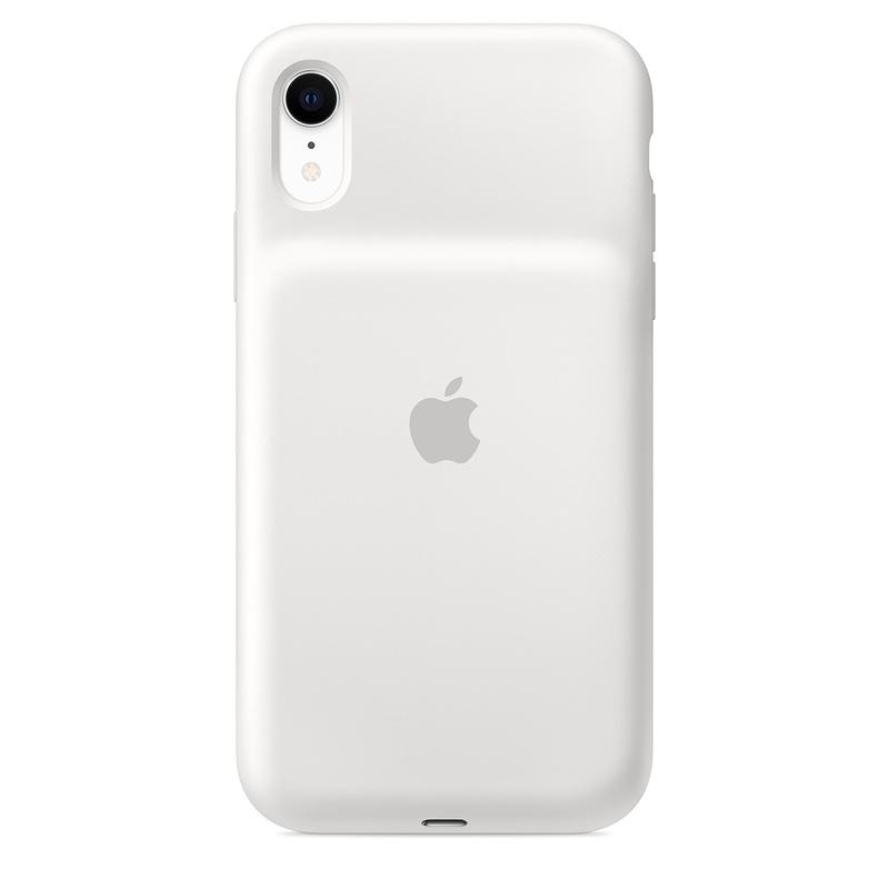 huge selection of 92894 0d5e0 Apple Smart Battery Case White for iPhone XR