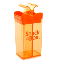 Snack In The Box Orange With One Colour Imprint