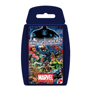 Top Trumps Marvel Universe Card Game English & Arabic
