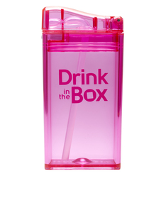 Drink In The Box Pink Re-Usable Juice Box