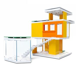 ArcKit Mini Modern Colours 2.0 Architectural Model Kit [105 Pieces]