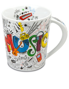 Konitz Young & Fresh Music 480ml Mug