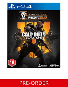 Call Of Duty: Black Ops 4 PS4 [Pre-order]