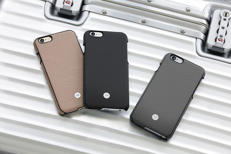 Just Mobil Quattro Leather Cover Beige For iPhone 6+/6S+