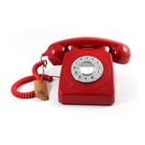 GPO Telephones 746 Push Red