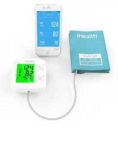Ihealth Kn-550 Bt Blood Pressure Monitor Track