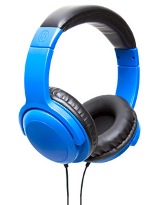 Wicked Audio Artifact Blue Over-Ear Headphones
