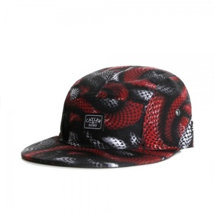 Cayler & Sons Black/Red Snakes Cap
