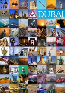 Dubai Photo Poster