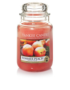 Yankee Candle Summer Peach Classic Jar [Large]