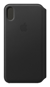 APPLE LEATHER FOLIO BLACK FOR IPHONE XS MAX
