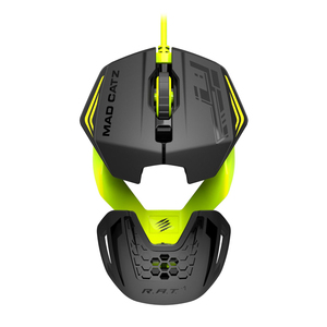 Madcatz Rat1 Green/Black Gaming Mouse