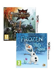Monster Hunter Generations + Disney Frozen [Bundle]