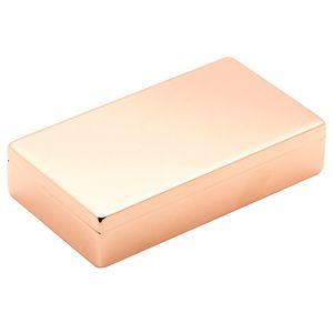 Lund Luxe Rose Gold Hinged Box Classic