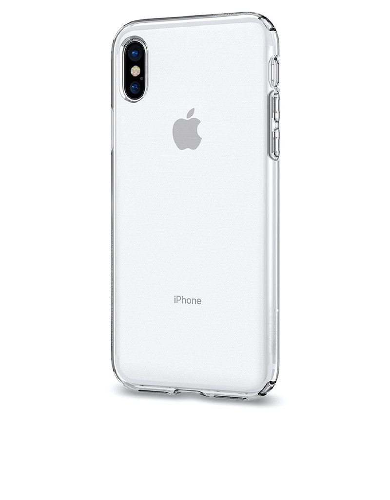 premium selection 7cc3c a86ee Spigen Liquid Crystal Case Clear For iPhone X