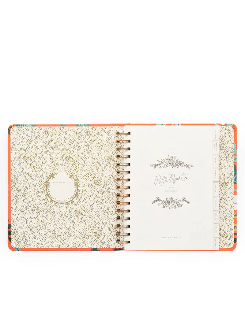 Rifle paper co scarlett birch 2017 planner agendas for Planner co