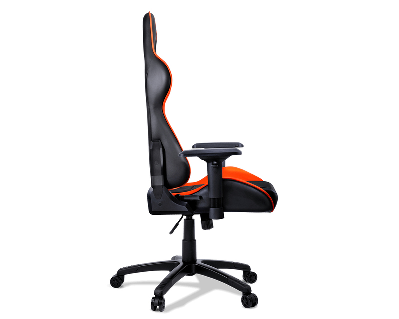 Prime Cougar Armor Orange Gaming Chair Gaming Chairs Gaming Accessories Gaming Virgin Megastore Machost Co Dining Chair Design Ideas Machostcouk