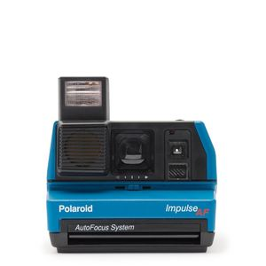 Polaroid 600 Instant Camera Impulse Blue