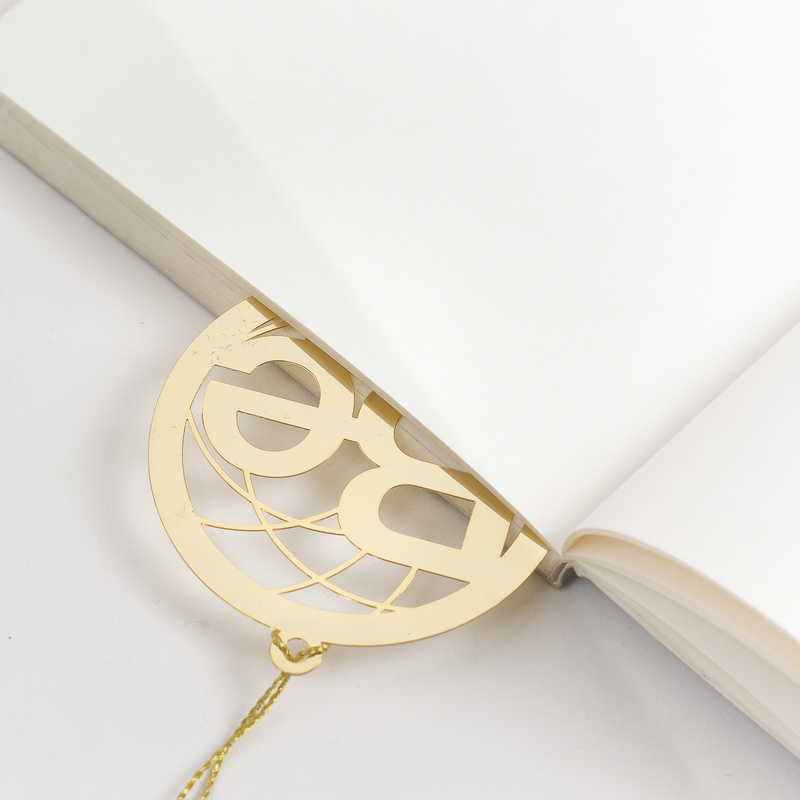 Letternote Be 24K Gold Plated Metal Bookmark