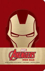 Marvel: Iron Man Hardcover Ruled Journal