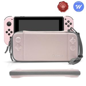 tomtoc Slim Hard Case Pink for Nintendo Switch