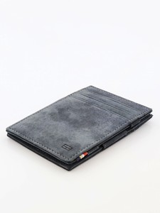 Garzini Essenziale Magic Wallet Vintage Carbon Black Wallet