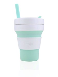 Stojo Biggie Cup Mint Light Green 470 Ml