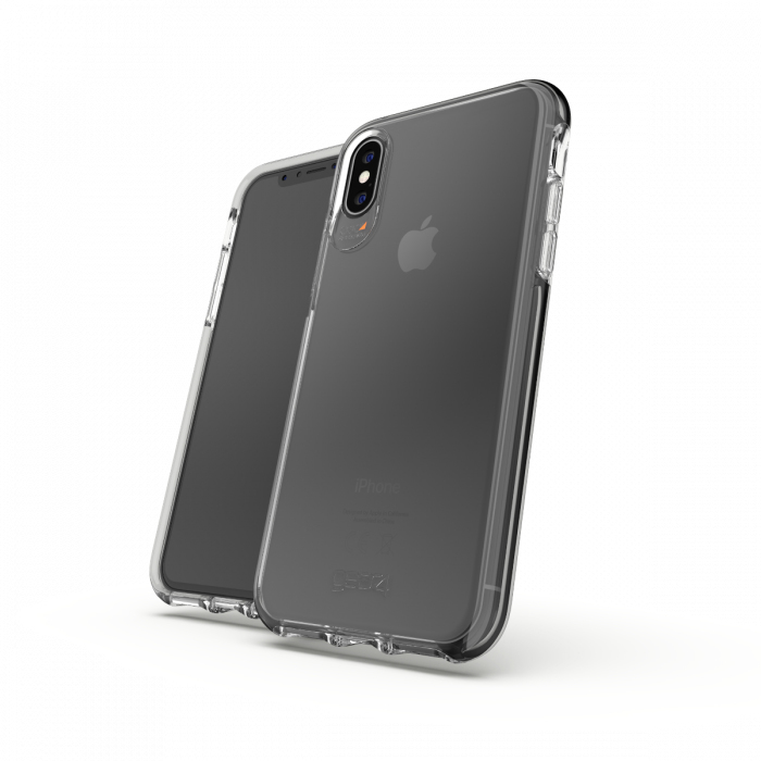 on sale df227 5d89c Gear4 D3O Crystal Palace Case Clear for iPhone XS