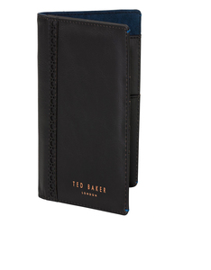 Ted Baker Black Travel Wallet & Pen